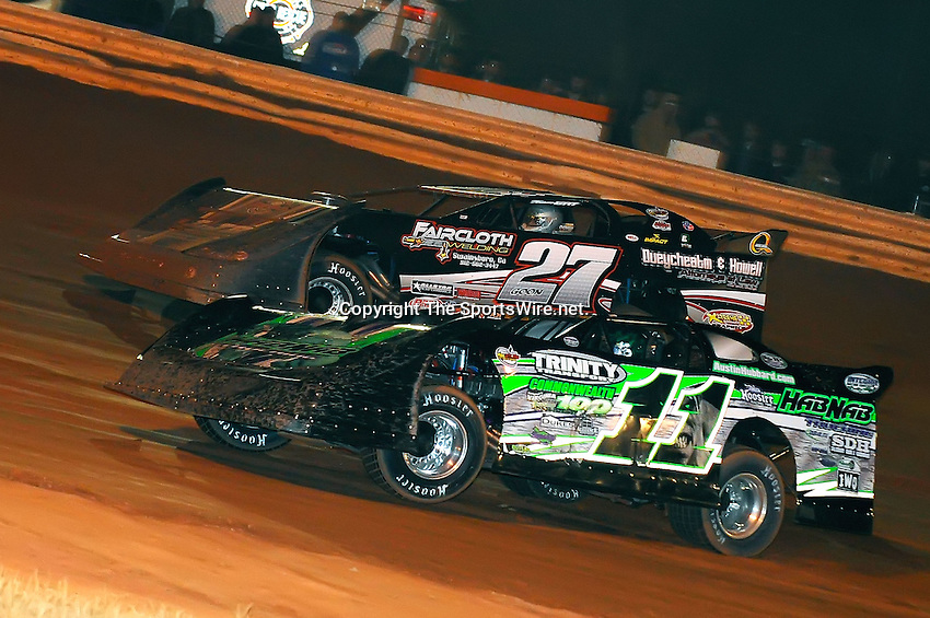 Jan 28, 2010; 9:19:26 PM; Waynesville, GA., USA; The Southern All Stars Racing Series running The Super Bowl of Racing VI at Golden Isles Speedway.  Mandatory Credit: (thesportswire.net)