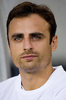 Dimitar Berbatov. Manchester United defeated Philadelphia Union, 1-0.