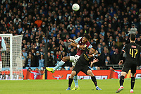 Tyrone Mings of Aston Villa gets to grips with Gabriel Jesus of Manchester City during Aston Villa vs Manchester City, Caraboa Cup Final Football at Wembley Stadium on 1st March 2020