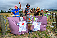 Fans on Skeets Rd during stage five of the NZ Cycle Classic UCI Oceania Tour (Masterton Circuit) in Wairarapa, New Zealand on Sunday, 19 January 2020. Photo: Dave Lintott / lintottphoto.co.nz