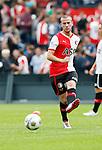 Nederland, Rotterdam, 27 juni 2012.Seizoen 2012-2013.Eerste training Feyenoord.John Goossens in actie met bal