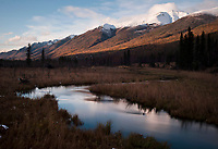 Headwaters of the Eagle River, Alaska.