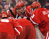 Doyle Somerby (BU - 27) - The Boston University Terriers defeated the Boston College Eagles 3-1 in their opening Beanpot game on Monday, February 6, 2017, at TD Garden in Boston, Massachusetts.