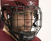 Justin Greene - The Boston College Eagles practiced on Wednesday, April 5, 2006, at the Bradley Center in Milwaukee, Wisconsin, in preparation for their 2006 Frozen Four Semi-Final game against the University of North Dakota.