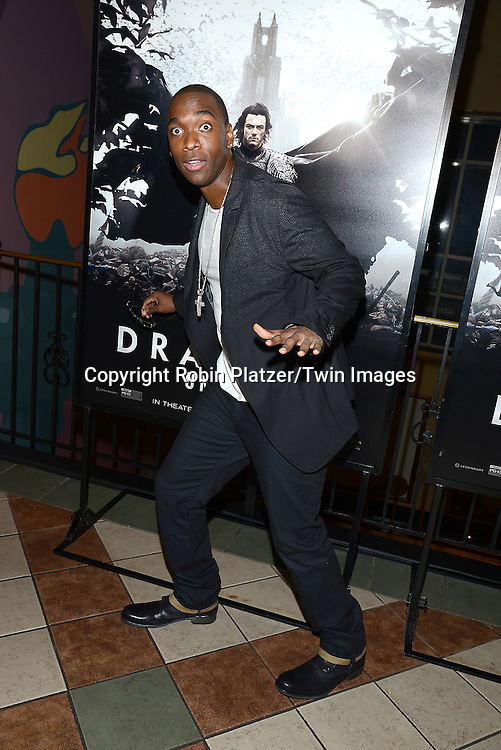 Jay Pharoah, of Saturday Night Live,  attends the Special Screening of &quot;Dracula Untold&quot;  on October 6, 2014 at The ABC Loews 34th Street Imax Theatre In New York City. <br /> <br /> photo by Robin Platzer/Twin Images<br />  <br /> phone number 212-935-0770