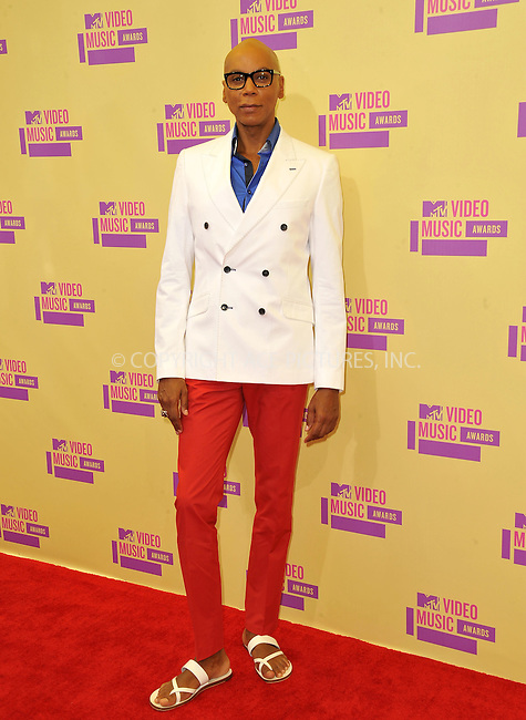 WWW.ACEPIXS.COM....September 6, 2012, Los Angeles, CA.......RuPaul arriving at the 2012 MTV Video Awards at the Staples Center on September 6, 2012 in Los Angeles, California. ..........By Line: Peter West/ACE Pictures....ACE Pictures, Inc..Tel: 646 769 0430..Email: info@acepixs.com