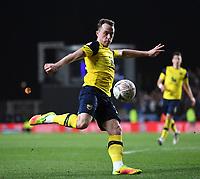 4th February 2020; Kassam Stadium, Oxford, Oxfordshire, England; English FA Cup Football; Oxford United versus Newcastle United; Josh Ruffels of Oxford takes a shot at goal
