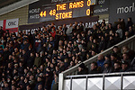 Home fans settling down to watch the second-half as Derby County played Stoke City in an EFL Championship match at Pride Park Stadium. Opened in 1997, it is the 16th-largest football ground in England and the 20th-largest stadium in the United Kingdom. The fixture ended in a 0-0 draw watched by a crowd of 25,685.