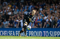 Goalkeeper Jordan Pickford of Everton during the Premier League match between Chelsea and Everton at Stamford Bridge, London, England on 27 August 2017. Photo by Andy Rowland.