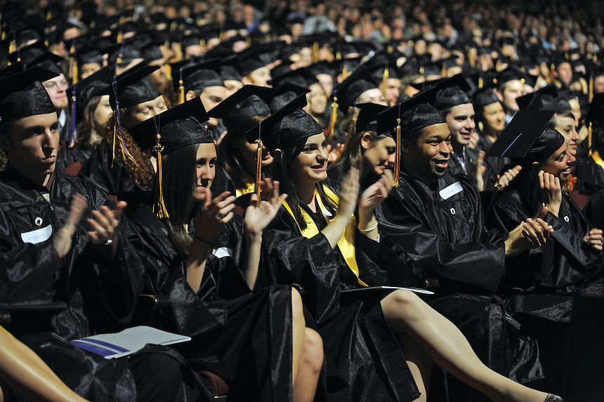 commencement, student, students, male, female