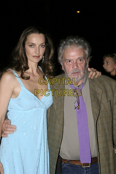 DAVID BAILEY.The British Fashion Awards, Victoria and Albert (V&A) Museum, London, November 2nd 2004..half length.Ref: AH.www.capitalpictures.com.sales@capitalpictures.com.©Capital Pictures.
