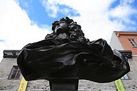Quebec (QC) CANADA - Sept 5 2009 - - statue of Louix XIV