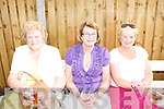 Sean McCarthy Weekend: Attending the open air music party At McCarthy's Bar in Finuge on Sunday were Maureen O.Connell, Katkleen O'Shea & Noreen O'Connor all from Listowel.