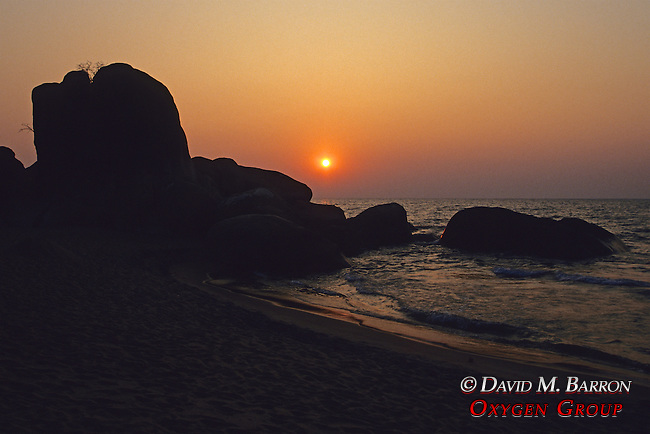 Sunrise At Livingstonia Beach