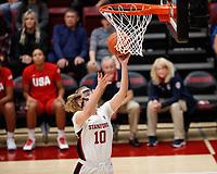 Stanford Basketball W v USA Basketball, November 2, 2019