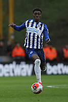 Yves Bissouma of Brighton & Hove Albion during Wolverhampton Wanderers vs Brighton & Hove Albion, Premier League Football at Molineux on 7th March 2020