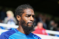 Anthony Grant of Peterborough United during the Sky Bet League 1 match between Peterborough and Oxford United at the ABAX Stadium, London Road, Peterborough, England on 30 September 2017. Photo by David Horn.