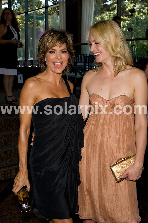 **ALL ROUND PICTURES FROM SOLARPIX.COM**.**SYNDICATION RIGHTS FOR UK, SPAIN, PORTUGAL, AUSTRALIA, S.AFRICA & DUBAI (U.A.E) ONLY**.Fashion For Life 2008 Celebrating Hearts & Hope with Style held at Mercedes-Benz of Beverly Hills, Beverly Hills, CA, USA. 18th May 2008..This pic: Lisa Rinna and Amber Valletta..JOB REF: 6454 PHZ    DATE: 18_05_2008.**MUST CREDIT SOLARPIX.COM OR DOUBLE FEE WILL BE CHARGED* *UNDER NO CIRCUMSTANCES IS THIS IMAGE TO BE REPRODUCED FOR ANY ONLINE EDITION WITHOUT PRIOR PERMISSION*