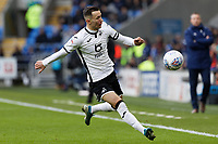 Bersant Celina of Swansea City in action during the Sky Bet Championship match between Cardiff City and Swansea City at the Cardiff City Stadium, Cardiff, Wales, UK. Sunday 12 January 2020