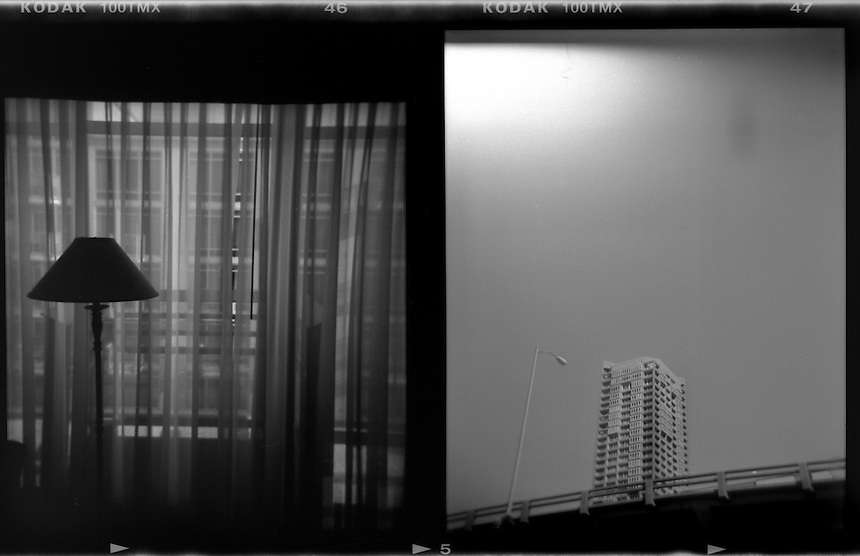 Black and White Holga Images