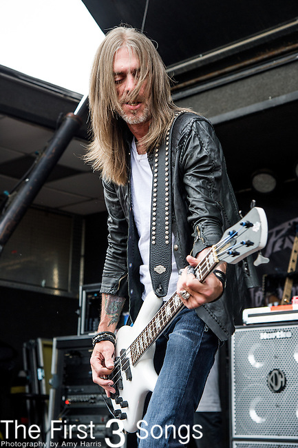 Rex Brown of Kill Devil Hill  performs during the 2014 Rock On The Range festival at Columbus Crew Stadium in Columbus, Ohio.
