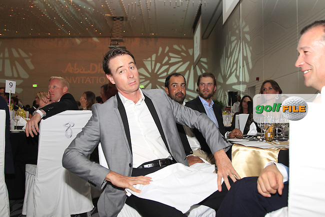 A sharp dressed Brett Rumford (AUS) during the 2015 Abu Dhabi Invitational Gala Evening held at The Viceroy Hotel, Yas Island, Abu Dhabi.: Picture Eoin Clarke, www.golffile.ie: 1/25/2015