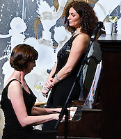 Encore, comprised of Kristin lbarado (piano), Denise Sharp (mezzo), and Kyle Jones (Baritone) playing at Ogden After Hours in New Orleans.