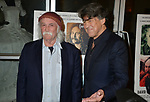"""David Crosby, Cameron Crowe - director 033 attends the Premiere Of Sony Pictures Classic's """"David Crosby: Remember My Name"""" at Linwood Dunn Theater on July 18, 2019 in Los Angeles, California."""