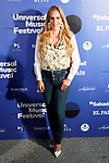 Spanish singer Maria Toledo during the photocall of Jamie Cullum's concert in the Universal Music Festival 2019. July 22, 2019. (ALTERPHOTOS/Acero)