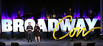 Anthony Rapp and Melissa Anelli on stage during Broadwaycon at New York Hilton Midtown on January 11, 2019 in New York City.