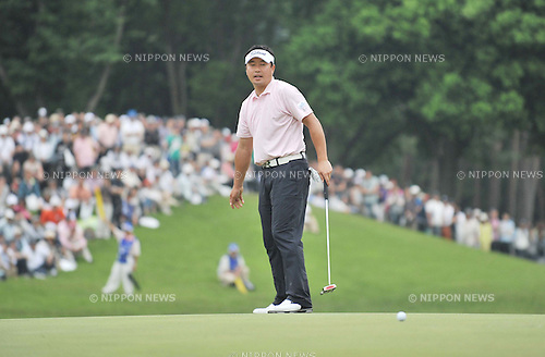 Daisuke Maruyama (JPN), June 5th, 2011 - Golf : The Japan Golf Tour Championship Citibank Cup, Final Round at Shishido Hills Country Club, Ibaraki, Japan. (Photo by Atsushi Tomura/AFLO SPORT) [1035]