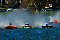 "Bobby King, S-92 ""Tenacity"", Andrew Tate, S-80 ""On The Edge"", Grant Hearn, S-14 ""Legacy 2""    (2.5 Litre Stock hydroplane(s)"