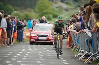 Europcar-rider up La Redoute (max 22%)<br /> <br /> Liège-Bastogne-Liège 2014