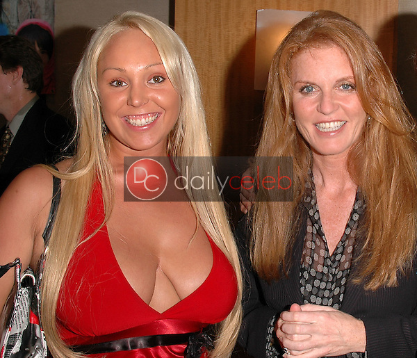 Marey Carey and Sarah Ferguson, Duchess of York