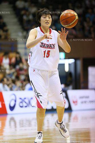 Cenjing Wang (JPN), <br /> JUNE 30, 2013 - Basketball : <br /> International Basketball Japan Games 2013 <br /> between Japan Women's 78-61 Mozambique Women's <br /> at 2nd Yoyogi Gymnasium, Tokyo, Japan. <br /> (Photo by YUTAKA/AFLO SPORT)