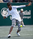 Venus Williams at the Family Circle Cup in Charleston, South Carolina on April 6, 2012