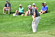 Bethesda, MD - July 2, 2017: Robert Garrigus hits a shot out of the grass on hole seventeen during final round of professional play at the Quicken Loans National Tournament at TPC Potomac at Avenel Farm in Bethesda, MD.  (Photo by Phillip Peters/Media Images International)