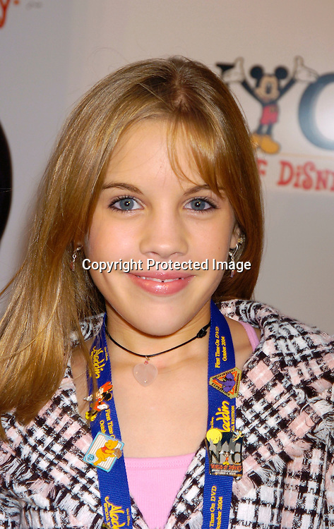 Kristen Alderson ..at the World of Disney Store opening on October 4, 2004 ..on Fifth Avenue in New York City. Photo by Robin Platzer, Twin Images