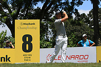 Henrik Stenson (SWE) in action on the 8th during Round 3 of the Maybank Championship at the Saujana Golf and Country Club in Kuala Lumpur on Saturday 3rd February 2018.<br /> Picture:  Thos Caffrey / www.golffile.ie<br /> <br /> All photo usage must carry mandatory copyright credit (© Golffile | Thos Caffrey)
