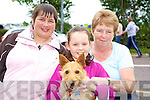 Enjoying the Killorglin Pony Show on Sunday were Breda O'Sullivan, Megan Gamble and Maureen Gamble.