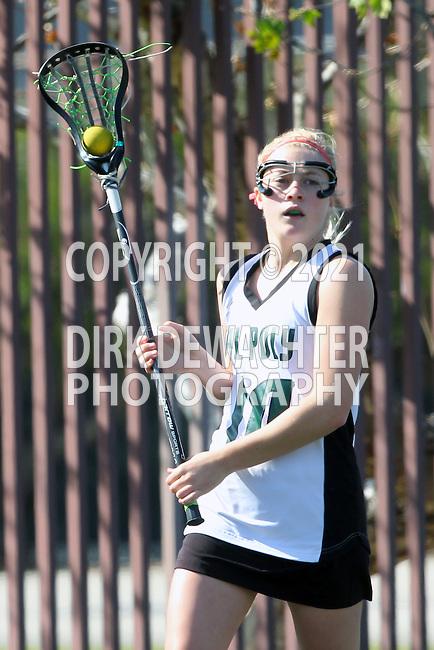 Santa Barbara, CA 02/18/12 - Christa Nelson  (Cal Poly SLO #10) in action during the 2012 Santa Barbara Shootout.  Colorado defeated Cal Poly SLO 8-7.