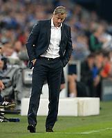 FUSSBALL   CHAMPIONS LEAGUE   SAISON 2013/2014   PLAY-OFF FC Schalke 04 - Paok Saloniki        21.08.2013 Trainer Jens Keller (FC Schalke 04)