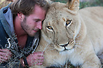 Valentin and lioness