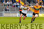 Jack Morgan  Austin Stacks in action against Micheal Burns Dr Crokes in the Kerry Club Championship Final on Sunday.