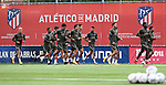 Atletico de Madrid's players during training session. September 17,2020.(ALTERPHOTOS/Atletico de Madrid/Pool)