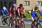 The peloton including Martin Elmiger (SUI) BMC with 12k to go during the 60th edition of the Record Bank E3 Harelbeke 2017, Flanders, Belgium. 24th March 2017.<br /> Picture: Eoin Clarke | Cyclefile<br /> <br /> <br /> All photos usage must carry mandatory copyright credit (&copy; Cyclefile | Eoin Clarke)