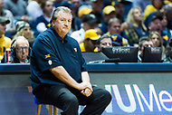 Morgantown, WV - NOV 18, 2017: West Virginia Mountaineers head coach Bob Huggins on the sidelines during game between West Virginia and Morgan State at WVU Coliseum Morgantown, West Virginia. (Photo by Phil Peters/Media Images International)