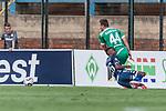 11.01.2019, Bidvest Stadion, Braampark, Johannesburg, RSA, FSP, SV Werder Bremen (GER) vs Bidvest Wits FC (ZA)<br /> <br /> im Bild / picture shows <br /> Philipp Bargfrede (Werder Bremen #44) im Duell / im Zweikampf mit Solly Khunyedi (Bidvest Wits FC #26), <br /> <br /> Foto © nordphoto / Ewert
