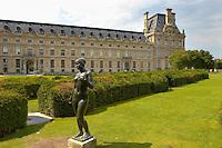 The Tuillier Gardens - Paris France
