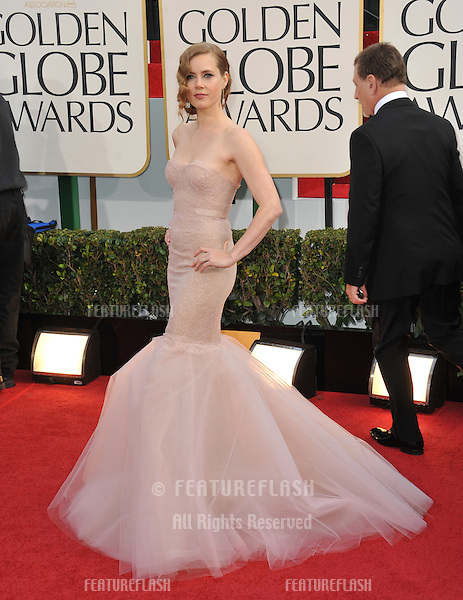 Amy Adams at the 70th Golden Globe Awards at the Beverly Hilton Hotel..January 13, 2013  Beverly Hills, CA.Picture: Paul Smith / Featureflash